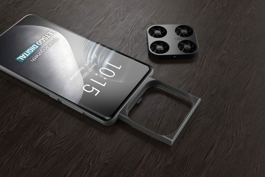Vivo Smartphone with Imaging Drone