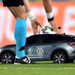 """Volkswagen Remote Controlled ID.4 """"Tiny Football Car"""" For UEFA Euro 2020"""