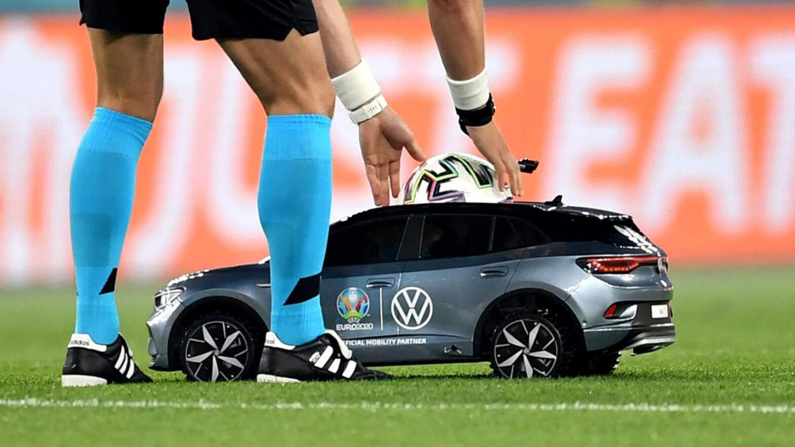 Volkswagen Remote Controlled ID.4 UEFA Euro 2020