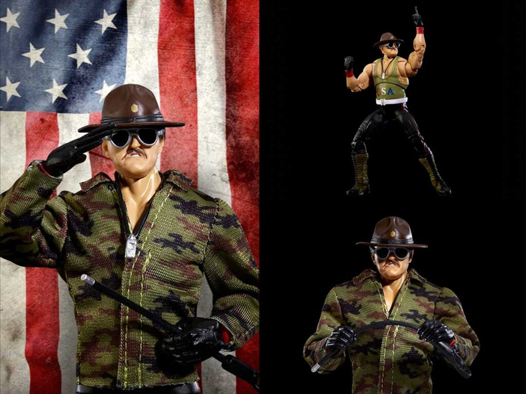 WWE Ultimate Edition Sgt. Slaughter Action Figure