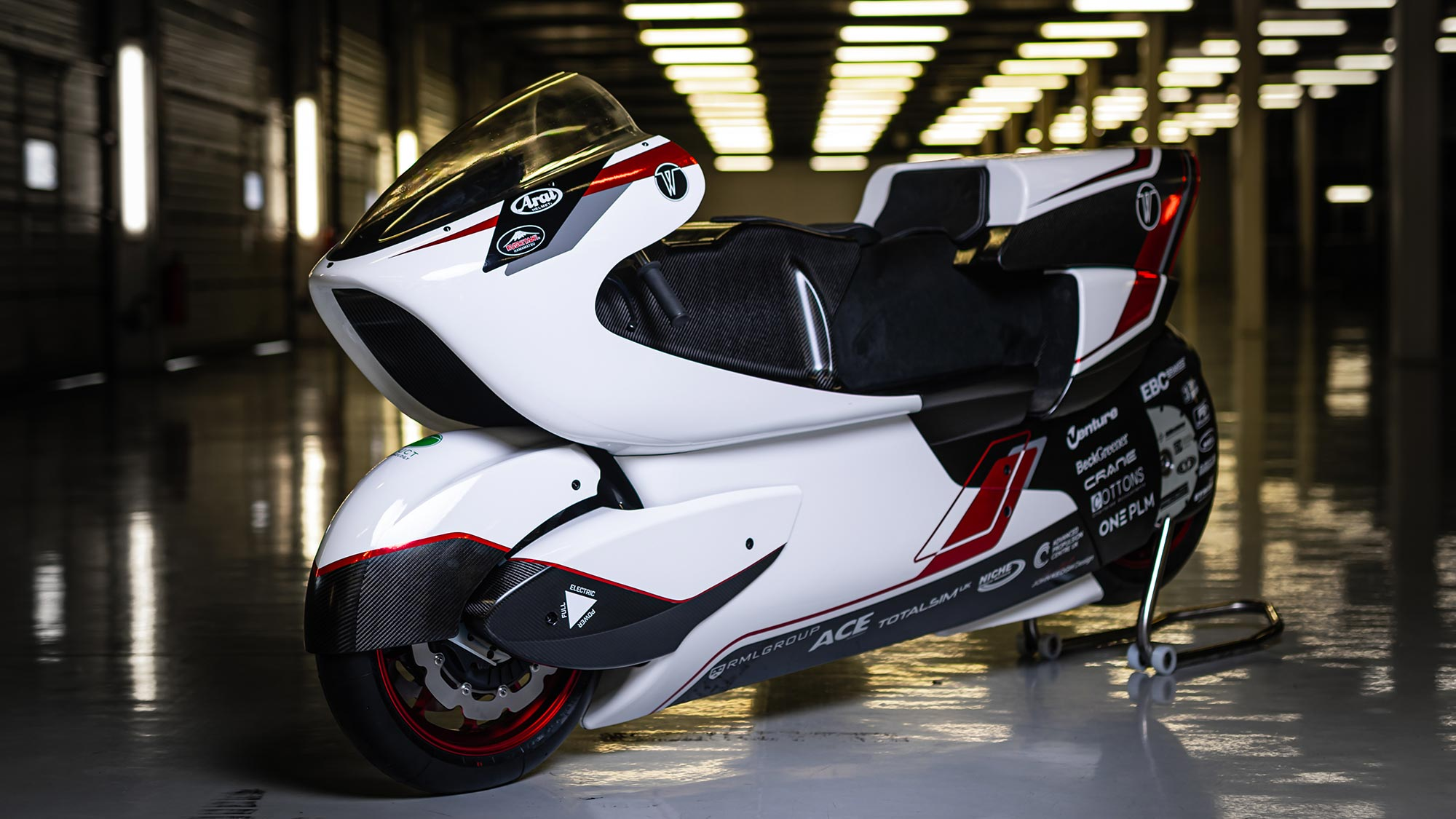 White Motorcycle Concepts Electric Motorcycle