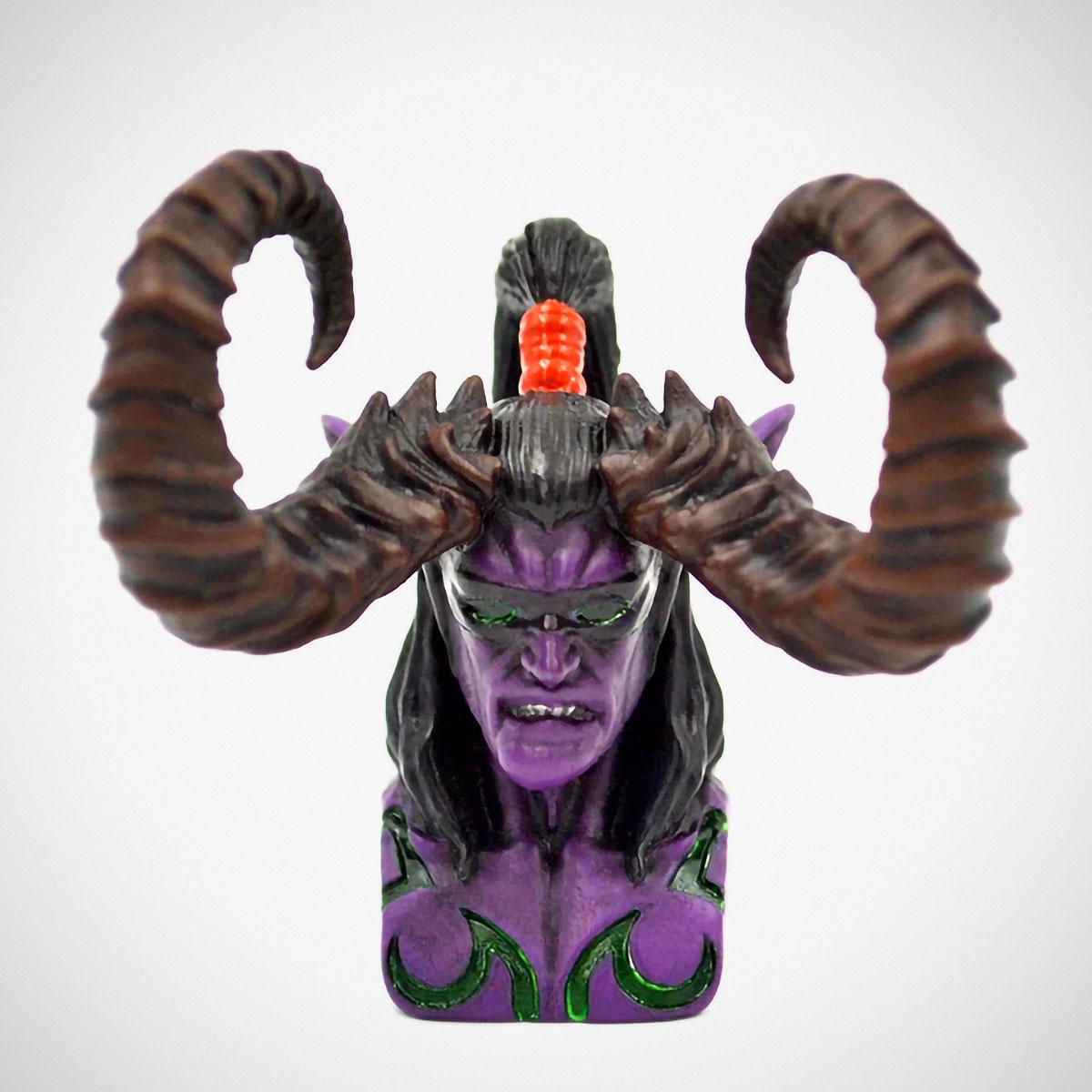 World of Warcraft Illidan Design Resin Backlit Keycap