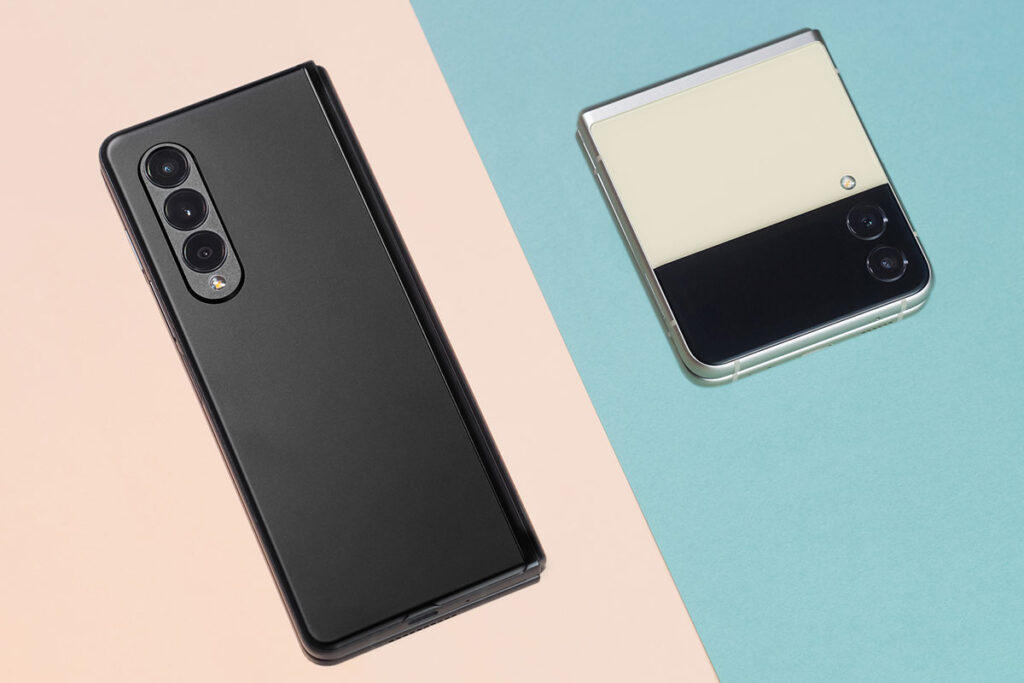 2021 Samsung Fold and Flip Folding Phones