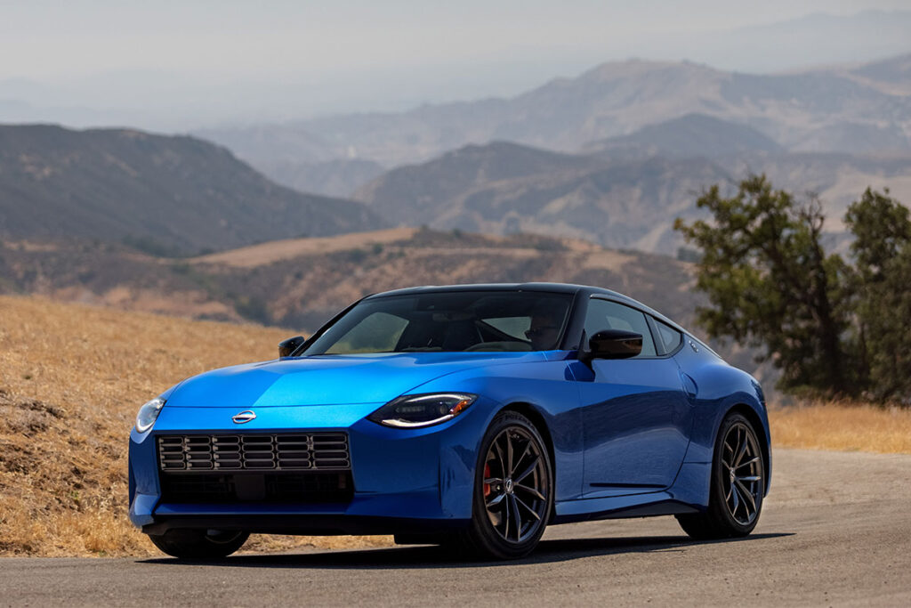 All-new 7th-generation 2023 Nissan Z Coupe