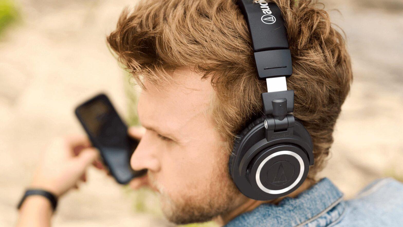 Audio-Technica ATH-M50xBT2 Headphones