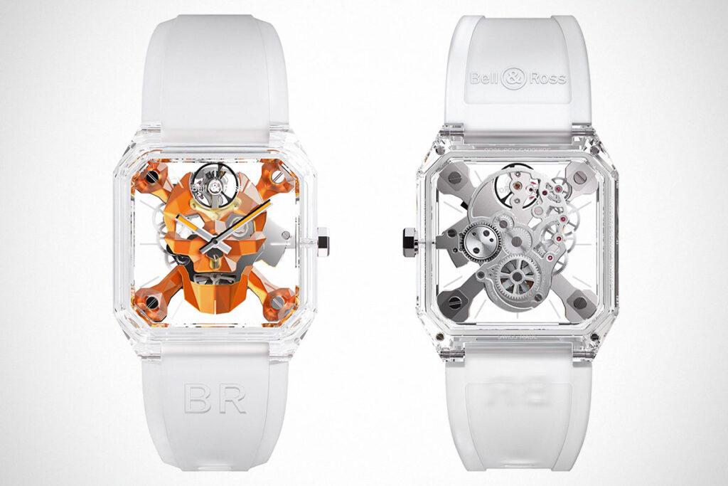 Bell & Ross BR 01 Cyber Skull Sapphire Only Watch
