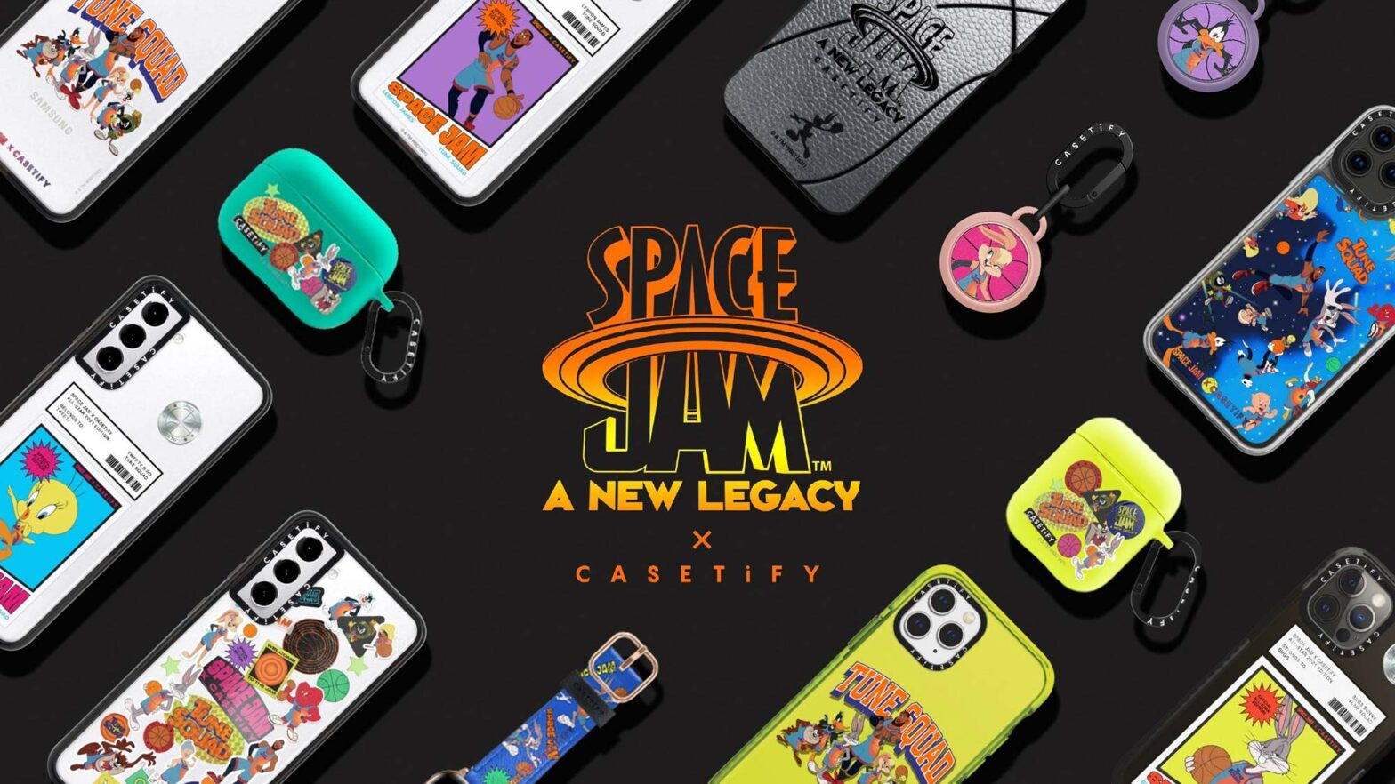 CASETiFY Space Jam A New Legacy Collection