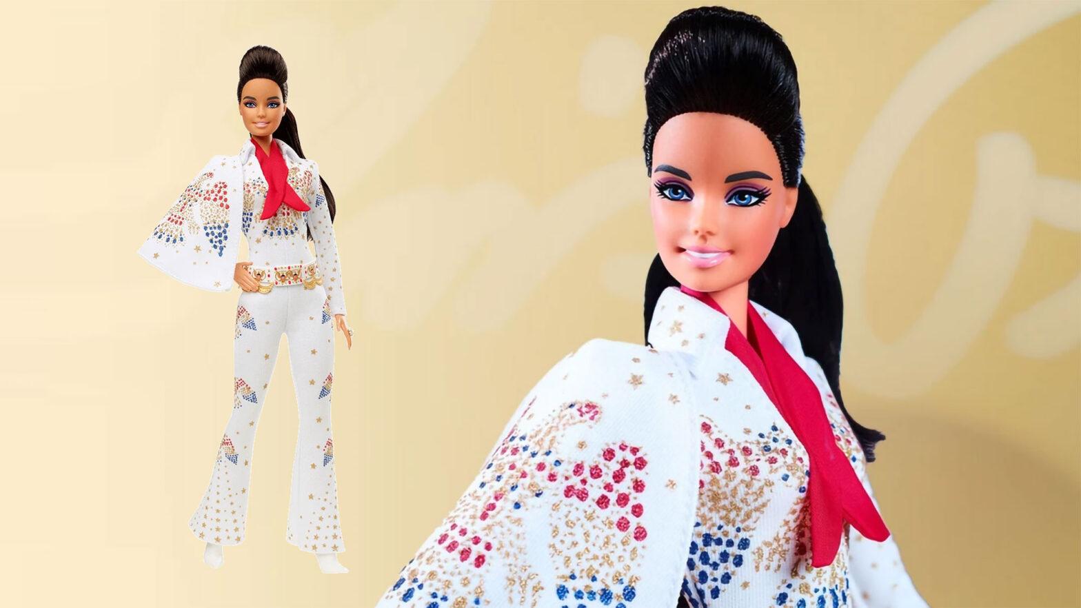 Elvis Presley Barbie Doll by Mattel