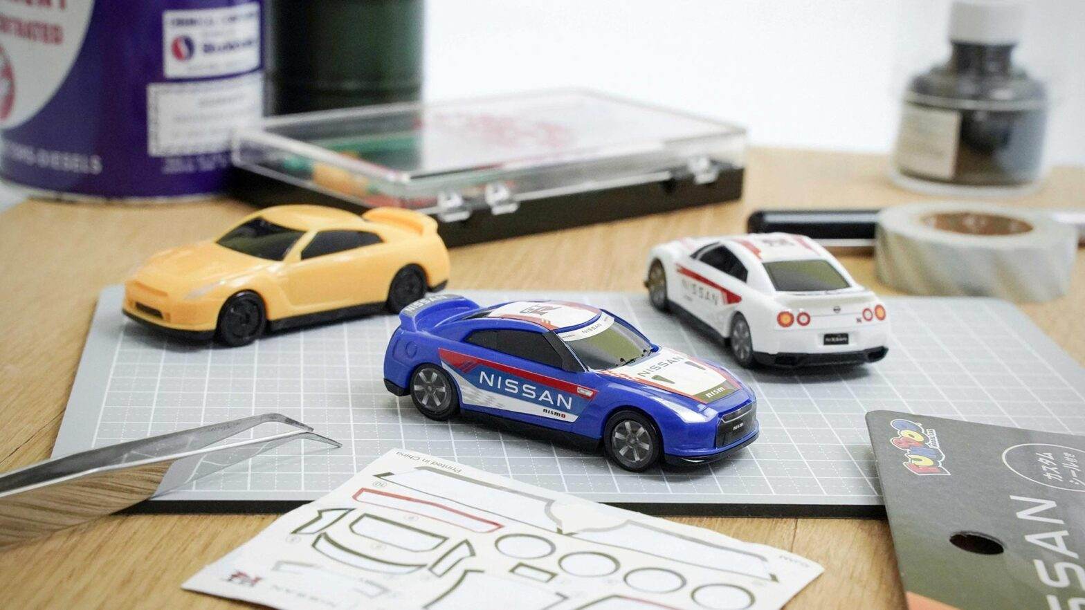 FUNBOO Nissan GT-R Toy Cars by Jam Corp