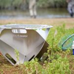 Fireflower Spark Is A Go Anywhere, Flat-packed Firepit And Grill Combo