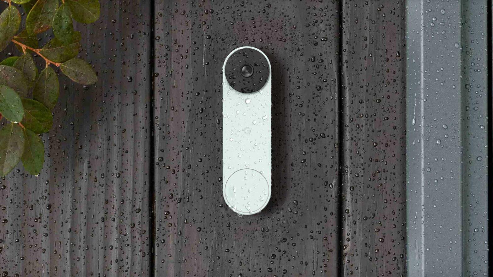 Google Battery-powered Nest Video Doorbell