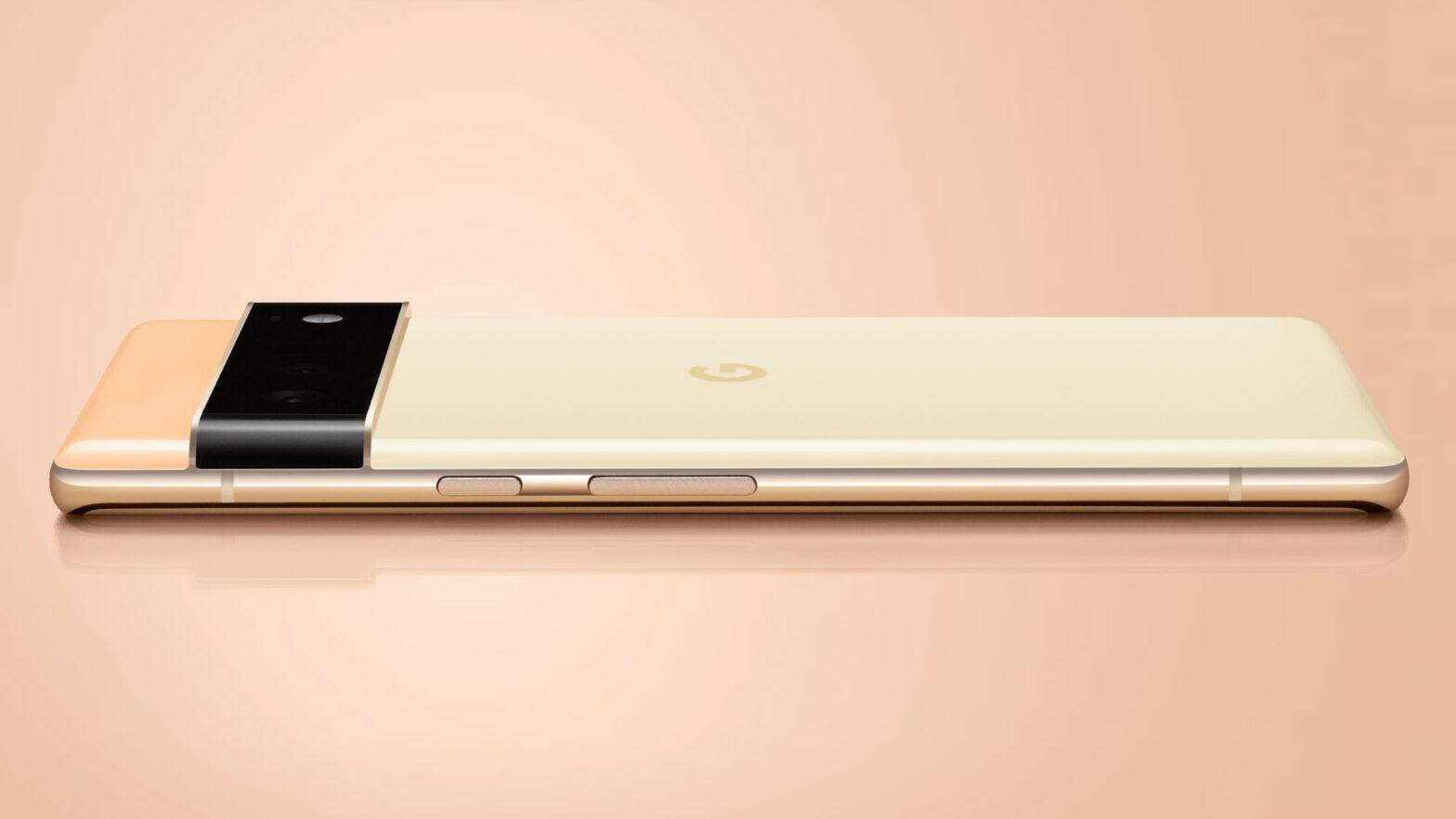 Google Pixel 6 Phone Previewed