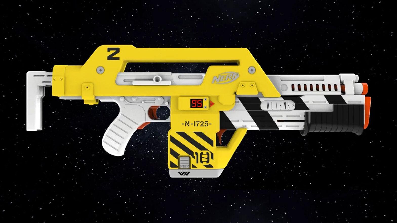 Hasbro NERF LMTD Aliens M41-A Blaster