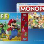 Game Of Life: <em>Super Mario</em> Edition And Monopoly <em>Animal Crossing New Horizons</em> Edition Board Games