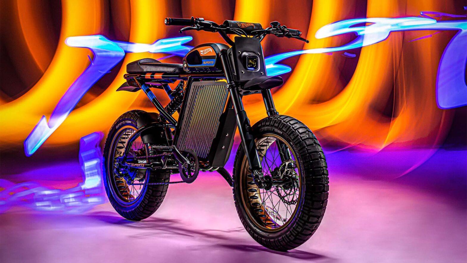 Hot Wheels x SUPER73-RX Electric Bike