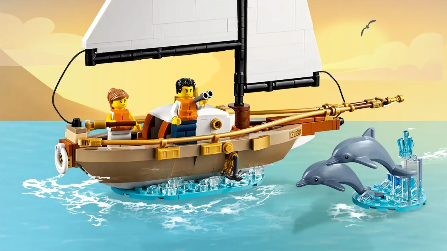 LEGO 40487 The Ëloïse Sailboat Adventure