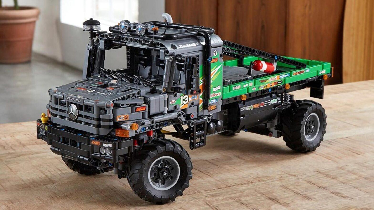 LEGO 42129 Technic 4x4 Mercedes-Benz Zetros Trial Truck