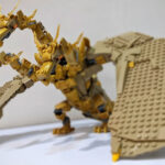 Check Out This Brilliant And Majestic LEGO MOC King Ghidorah By Chubbybots