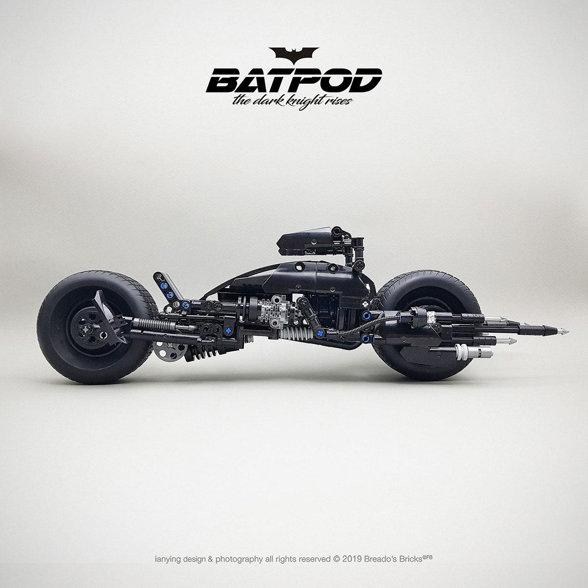 LEGO MOC The Dark Knight BatPod