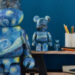 MoMA Partnered With Medicom Toy For Van Gogh The Starry Night Bearbrick Figure