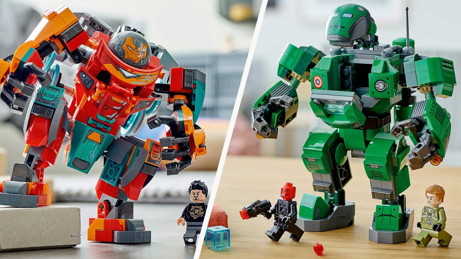 New LEGO Marvel Studios' What If… Sets