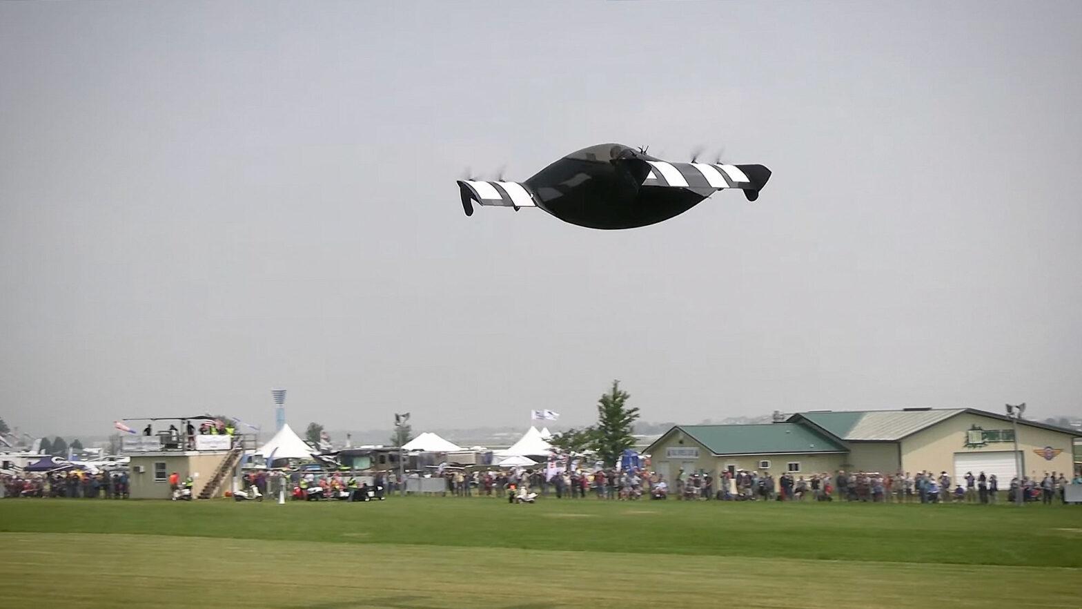 Opener Blackfly at EAA AirVenture 2021