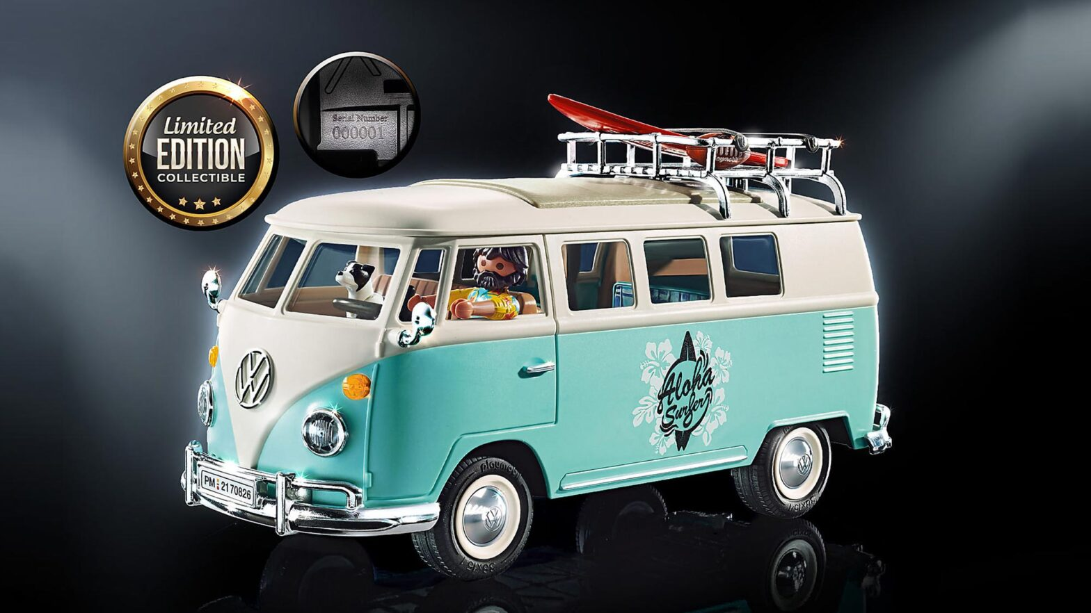 Playmobil Special Edition VW Bus and Beetle
