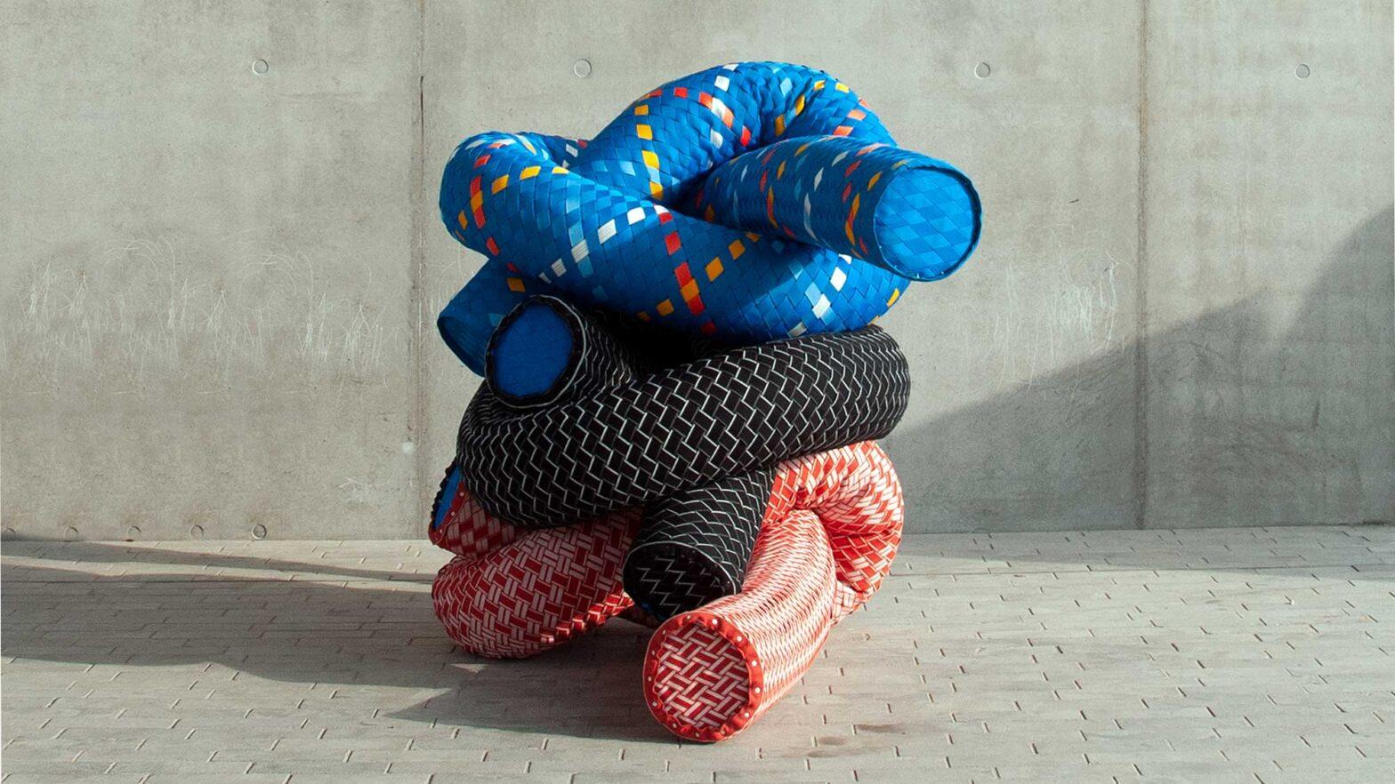 ROPE Social Sculpture and Furniture