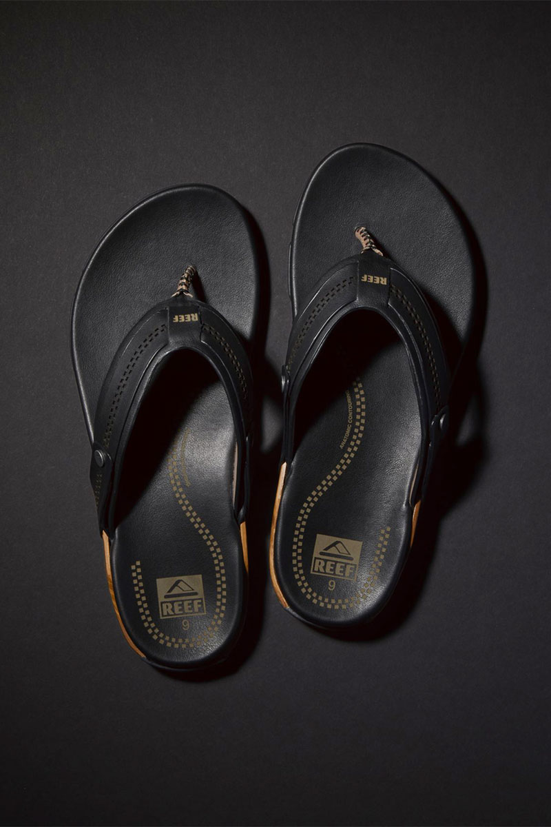 Reef Paipo Wood and Leather Sandal