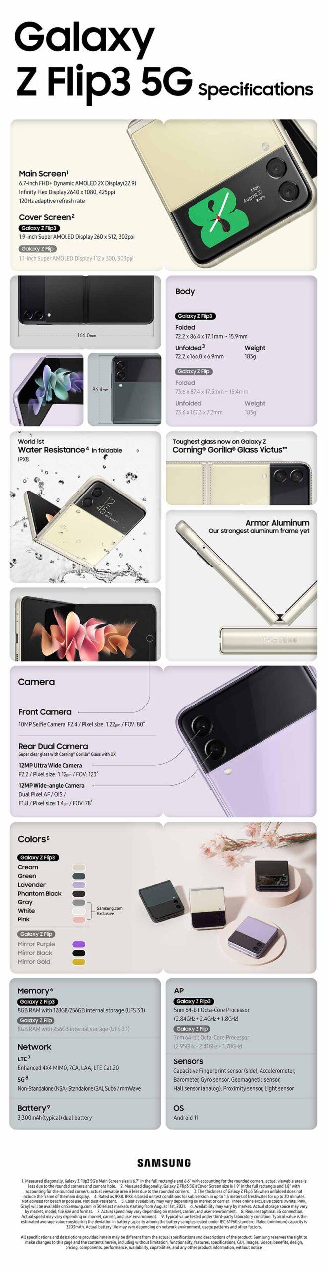 Samsung Galaxy Z Flip3 5G