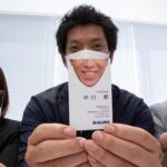 Novel Business Card Reveal That Smile Of Yours Behind The Face Mask