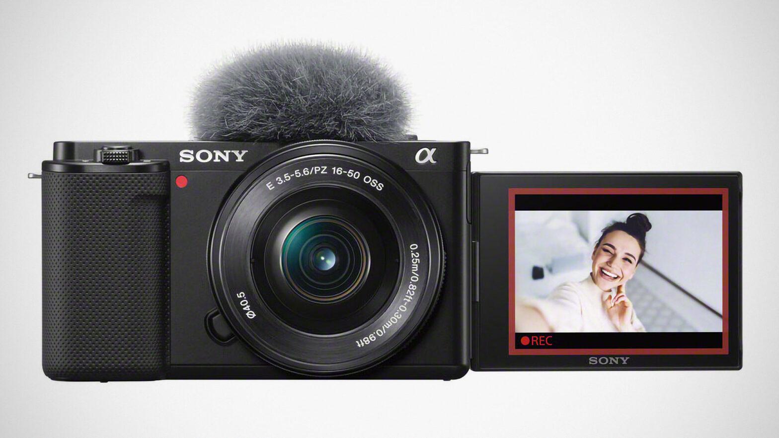 Sony ZV-E10 Interchangeable Lens Vlog Camera