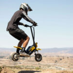 This Splach-Transformer Is A Standup Scooter And A Mini, Electric Dirt Bike