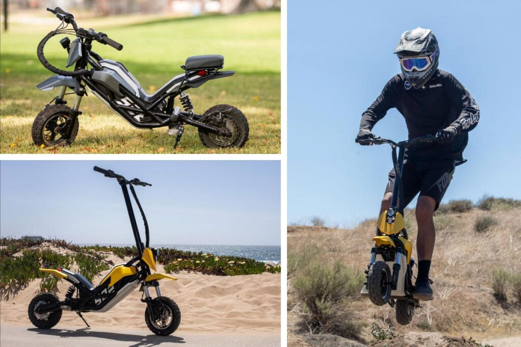 Splach-Transformer 960W Motorbike-like Scooter