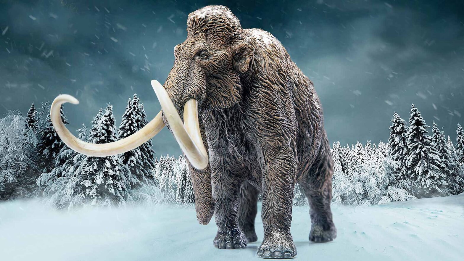 Star Ace x X-Plus Woolly Mammoth Statue