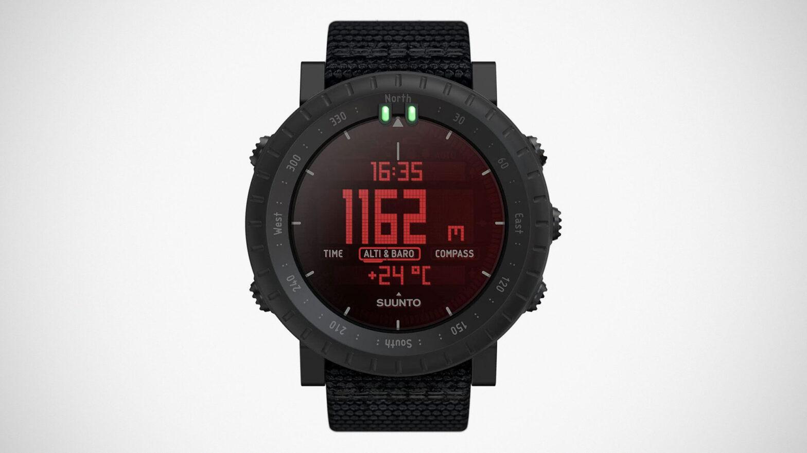 Suunto CORE Alpha Stealth Smartwatch