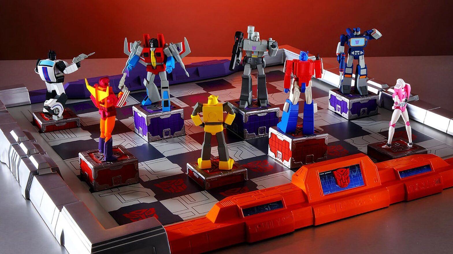 The Transformers Gen-1 Chess Set