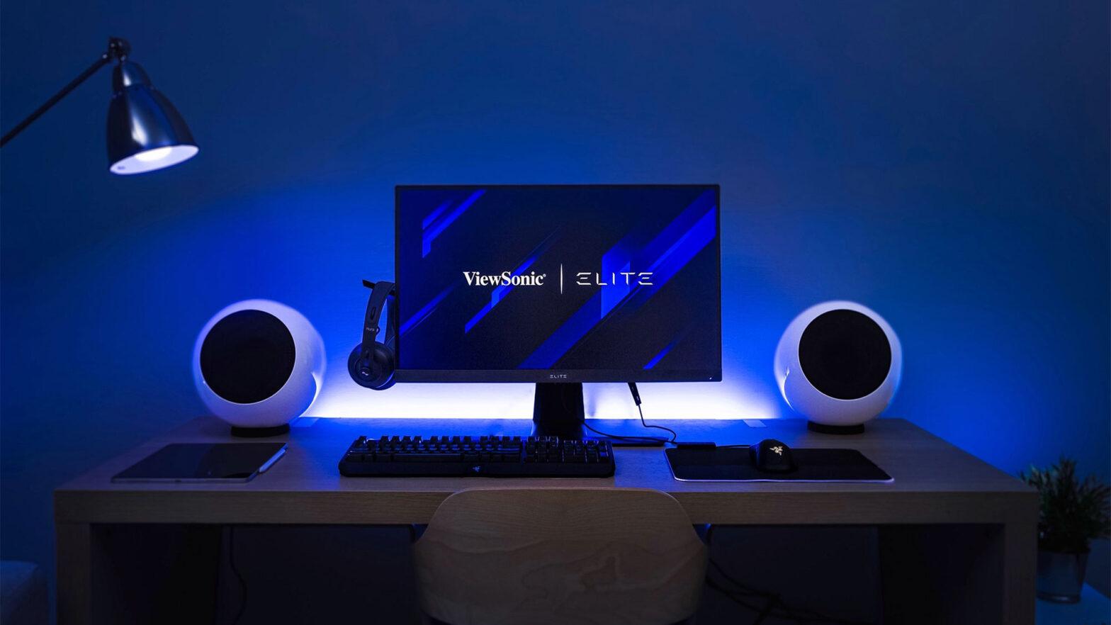 "ViewSonic ELITE 32"" Professional Gaming Monitors"