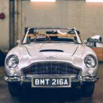 Aston Martin DB5 Junior <em>No Time To Die</em> Edition Has Gatling Guns, Smoke Screen, And More