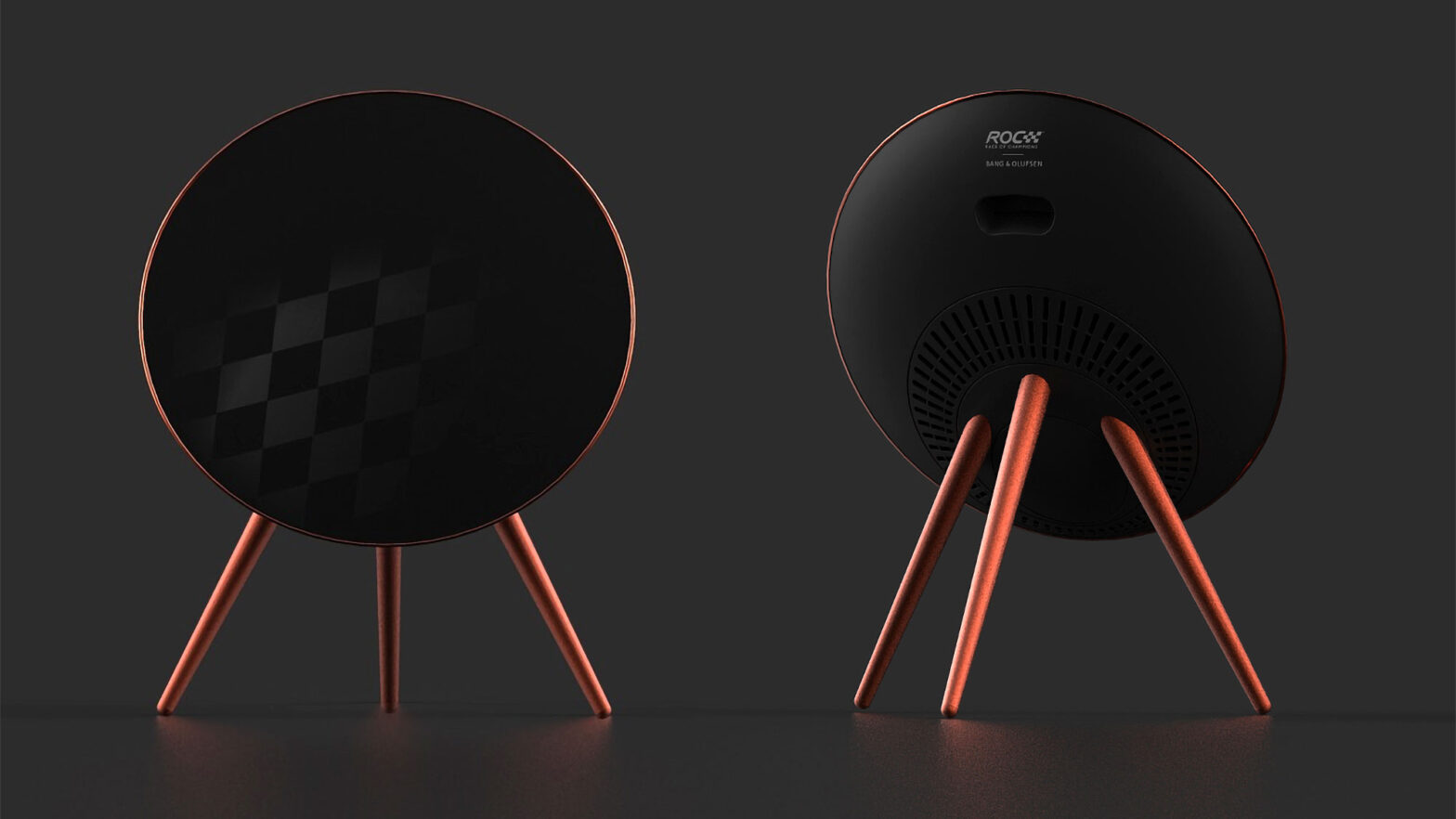"""Bang & Olufsen Beoplay A9 Fourth Generation """"ROC Edition"""" Speakers"""