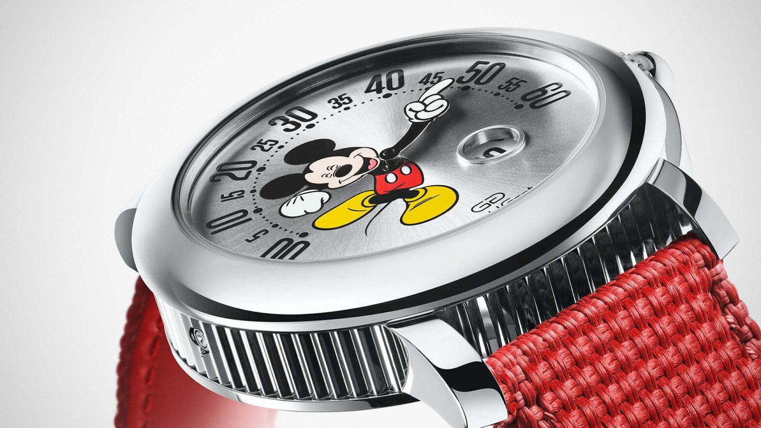 Bulgari Gérald Genta Mickey Mouse Watch