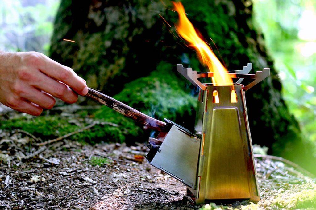 By Arnaud FireTower Folding Rocket Stove
