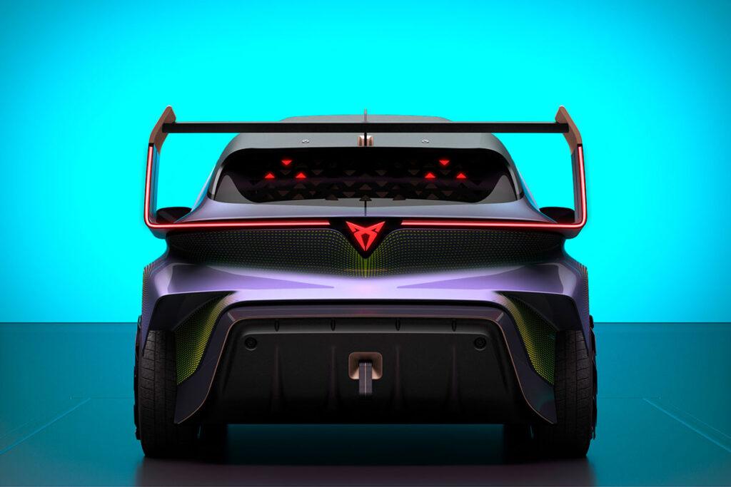 CUPRA UrbanRebel Concept Electric Car