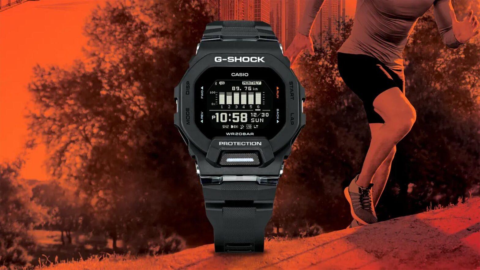 Casio G-Shock Move GBD200 Fitness Watch