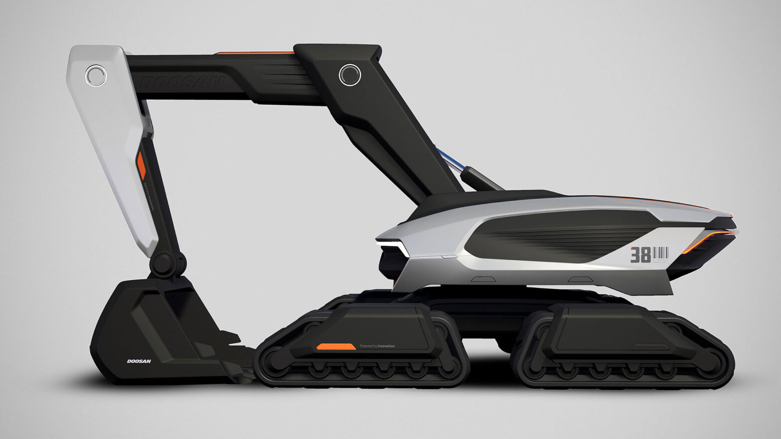 Concept-X Excavator by Doosan Infracore