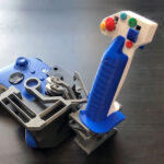 Custom Flexure Joystick For Xbox Controller Is How You Play Flight Sim For The Cheap