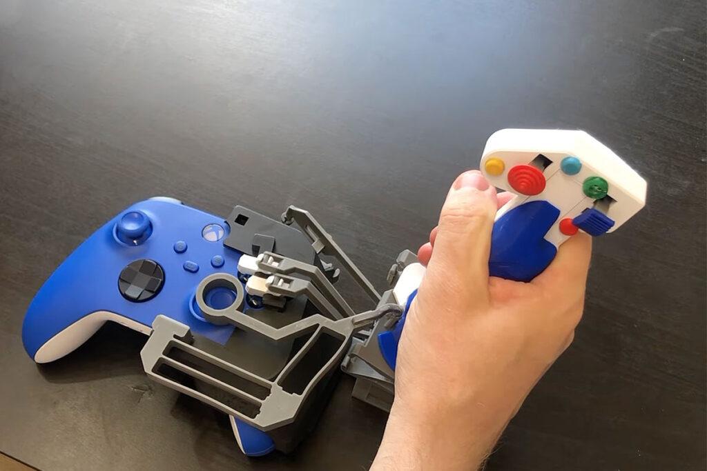 Custom Flexure Joystick for Xbox Controller
