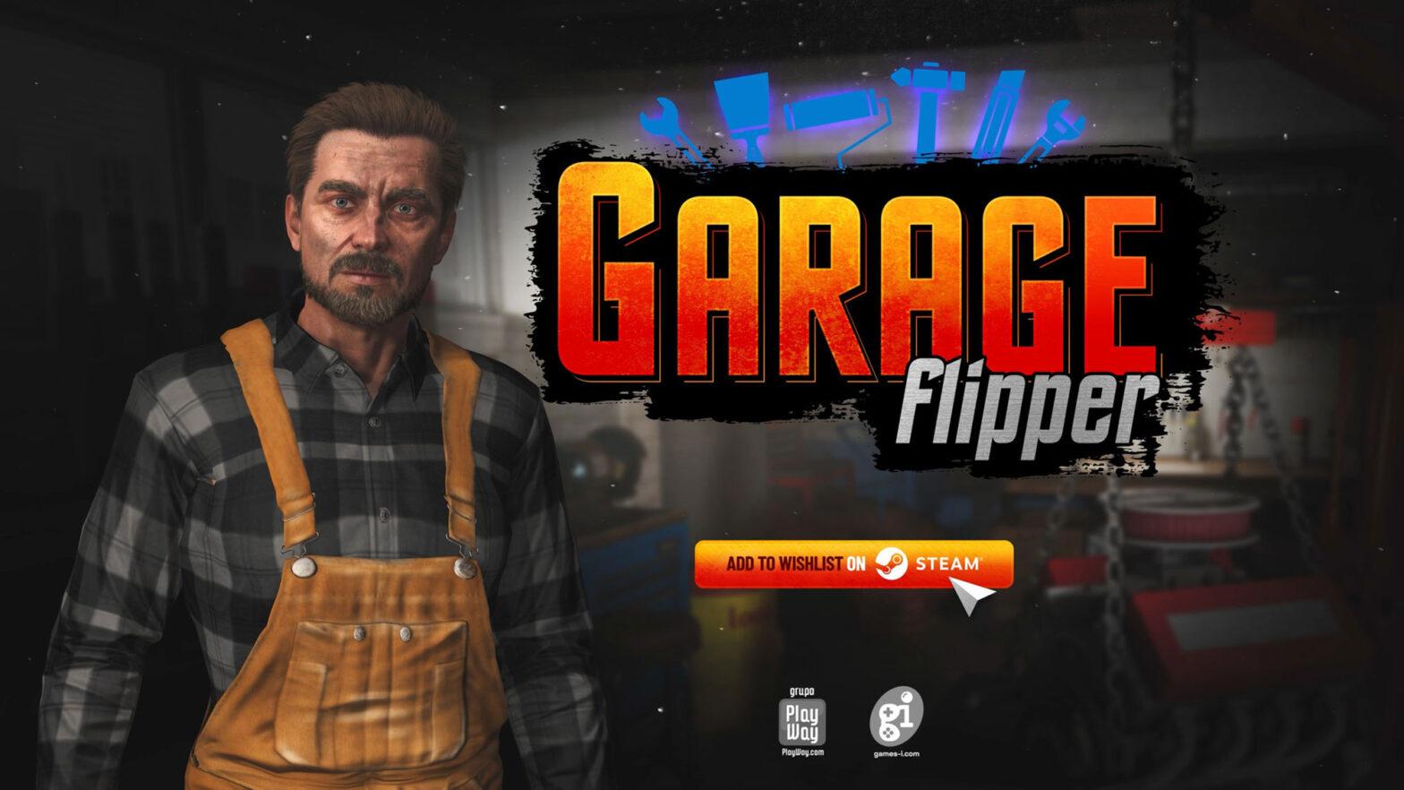Garage Flipper Video Game by Games Incubator