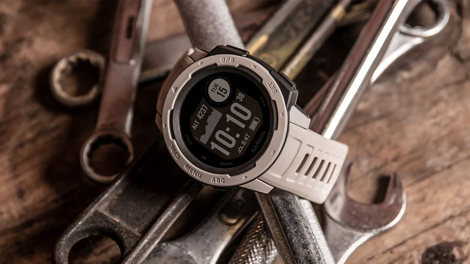 Garmin Instinct Rugged Outdoor Watch with GPS