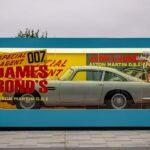 Aston Martin Celebrates The Arrival Of <em>No Time To Die</em> With Giant Replica Of The Original 1965 Corgi DB5 Model Toy Box